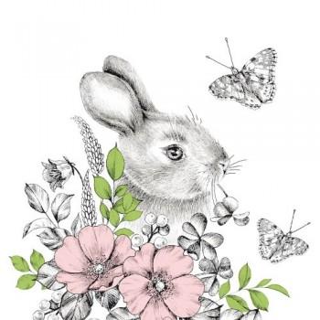 Serwetki Wielkanocne zając...