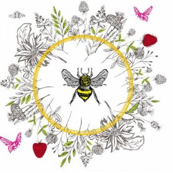 Serwetki pszczoła