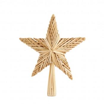 Gwiazda na choinkę słomiana