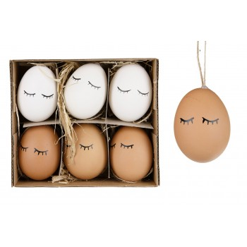 Zawieszka jajko kpl. 6szt.